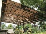 De Tent die van Gazebo van de Luifel van de Tuin van de villa de Luifel van Rainshed afbaarden Sunshed