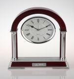 Artigos de presente grossista Relógio de madeira decorativo, Relógio de madeira