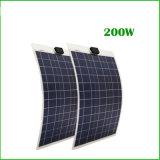 キャンプのキャラバンのための200W適用範囲が広い太陽電池パネル