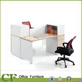 簡単な様式の木の執行部の机の主任のコンピュータ表