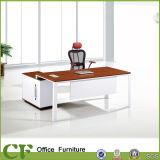 L bureau exécutif de CEO de bureau de bureau de forme avec le bâti d'aluminium de TTT