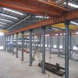 Edificio de marco de dos pisos de la estructura de acero