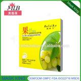 Het bittere Masker van de Zijde van de Vezel van het Fruit Control/Smooth van de Huid Soften/Oil van het Sap van de Meloen