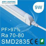 2835 SMD 600mm 9W T5 Luz do Tubo de LED com marcação RoHS UL