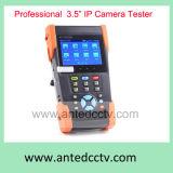 Verificador Handheld barato da segurança do Ipc para a câmera do IP com 3.5 o monitor do toque da polegada TFT LCD