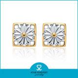 Filigrana Quaility alto 925 Sterling Silver Earring para señoras (E-0038)
