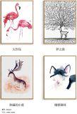 2017 Lienzo vendedor caliente de la pintura, la fauna silvestre del elefante de colores