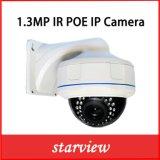 1.3MP cámara de red al aire libre de la bóveda de la seguridad impermeable del CCTV del IP IR