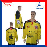 Desgaste uniforme sublimado del deporte de Jersey del hockey reversible de la camisa