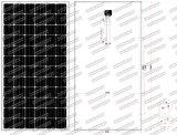 el mono panel solar de 36V 300W-315W con la tolerancia positiva (2017)