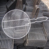 Круглая сетка металла провода BBQ для решетки