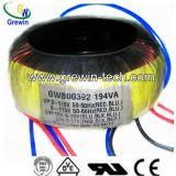 Transformador toroidal de la eficacia alta para el equipo audio