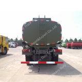 軍のトラックの中国HOWO 20000Lの燃料のタンク車のSinotruk 6X6オイルのトラック