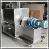 Misturador de fita dupla horizontal de aço inoxidável para pó de suco