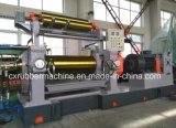 Máquina abierta del molino de mezcla del caucho de dos rodillos con el mezclador común