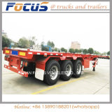 Choisir, deux, la remorque de camion de conteneur de trois essieux semi, châssis de camion pour le transport