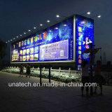 광고 매체 옥외 물 증거 LED 전구 램프 옥외 스티커 게시판 LED 빛