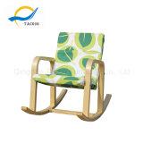 아기를 위한 굴곡 나무 놀고 및 이완 흔들 의자