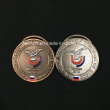 Médailles en alliage de zinc de la concurrence