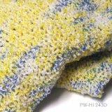 Boucle de fils teints à l'espace de couleur en polyester/acrylique