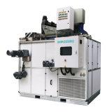 Klärschlamm-trocknende Maschine der Entwässerung und des Trocknens der Einheit