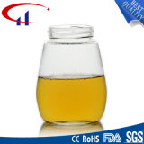 Venta al por mayor 460ml tarro de cristal de alta calidad de la miel (CHJ8134)