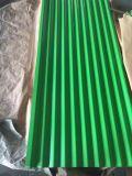 Qualitäts-Farbe galvanisierte Wellen-Fliese für Dach-Blatt