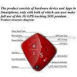 Red 3G de ancianos rastreador de GPS con cámara (V42)