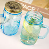 Home Use 16oz Custom Mason Jars Glass