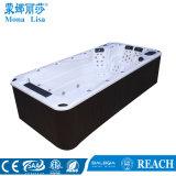 4,8 mètre nager en plein air en acrylique Lucite SPA Massage un bain à remous (M-3370)