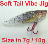 Angers Top Select Fishing Tackle Soft Tail Vibe Blade Jig Fishing Lure