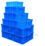 Caixa de empilhamento plástica da logística da modificação para a meia