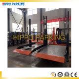 Гидровлический двойной ровный подъем оборудование/2 автомобиля столба стоянкы автомобилей
