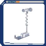 LED-Punkt-Rettungs-Beleuchtung-Geräten-faltbares ineinanderschiebendes hohes Mast-Licht