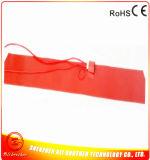 110V 1000W 200 * 860 * 1.5mm Chauffe-tambour en caoutchouc silicone