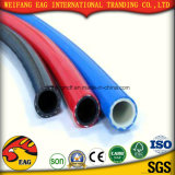 黄色いPVC適用範囲が広くスムーズな表面の吸引Hose/PVCの鋼線のホース