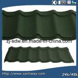 CE & certifié ISO feuille de métal coloré classique de toiture tuile de toit pour la vente à chaud