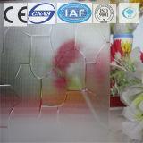 건물을%s 3-8mm 부유물 또는 Karatachi 부드럽게 한 명확한 장식무늬가 든 유리 제품