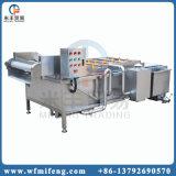 A facilidade de operação da máquina de limpeza da escova de frutas
