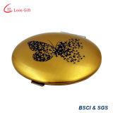 Espelho de maquiagem Butterfiy ouro para venda