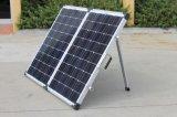 죔쇠와 앤더슨 플러그를 가진 태양 전지판을 접히는 단청 120W