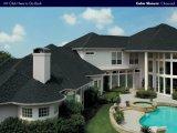 파란 모자이크/6각형 아스팔트 지붕널