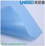 Tissu de maille transparent de PVC pour le sac de crayon de sac de tirette de papeterie