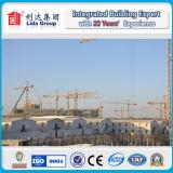 Dubai 4000 metros cuadrados de casa prefabricada del campo de trabajos forzados K con la estructura de acero galvanizada