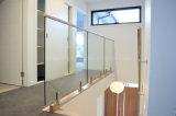 Очистить/Балкон Balustrade Ultra-Clear закаленное стекло/Безрамные стеклянные Balustrade