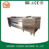 Machine à laver commerciale avec le balai pour la transformation de fruits