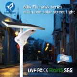 60W tutto in un indicatore luminoso di via solare dei prodotti con il LED
