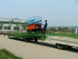 6t 8t 10t réglable en hauteur rampe mobile élévateur hydraulique pour conteneur