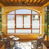 Моторизованные шторки введенные в двойное полое стекло для окна или двери
