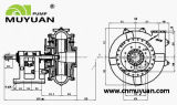 Metall zeichnete Tausendstel-Einleitung-chemische aufbereitende Schlamm-Pumpe